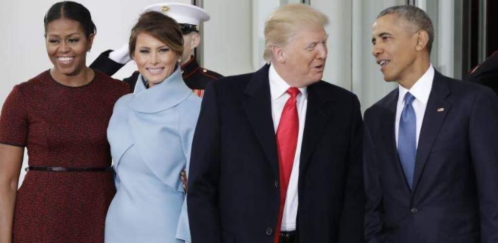 Los Trump, en la Casa Blanca: saludos, regalos y anécdotas
