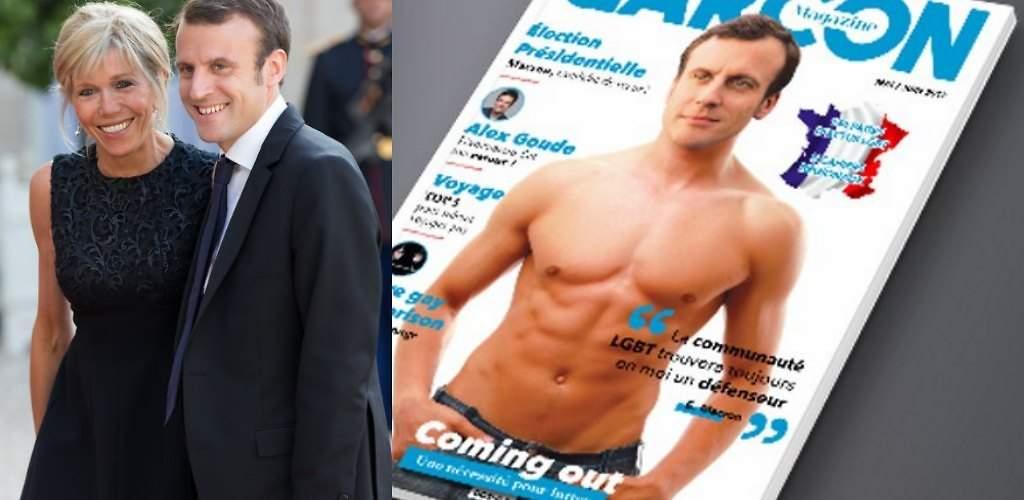 La portada gay del próximo presidente de Francia