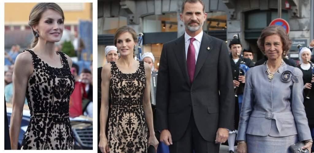 Letizia retoma su estilo más clásico en los Princesa de Asturias
