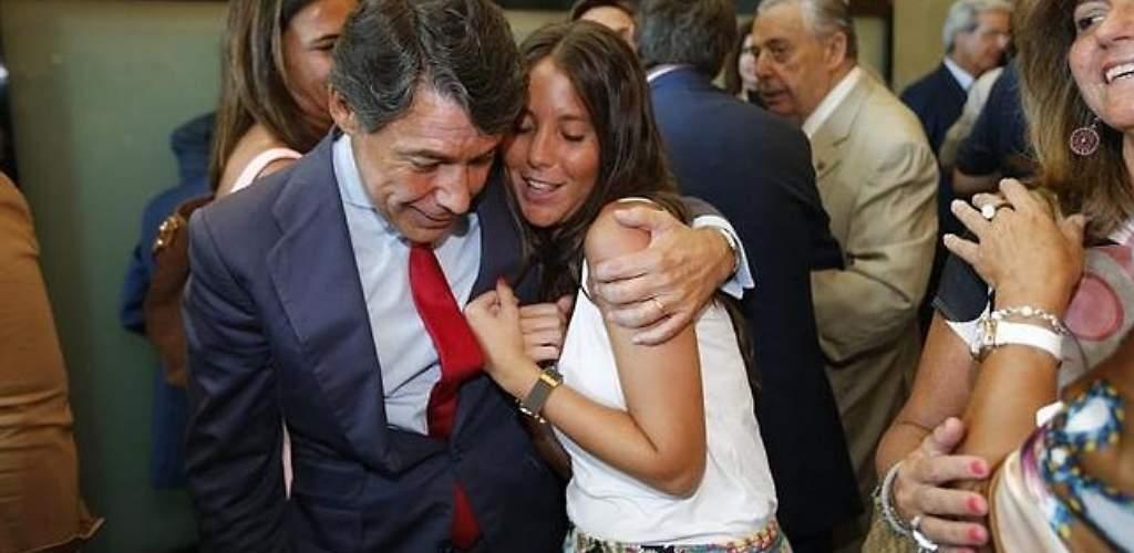 La lista de la hija de Ignacio González: es limpia y peliculera