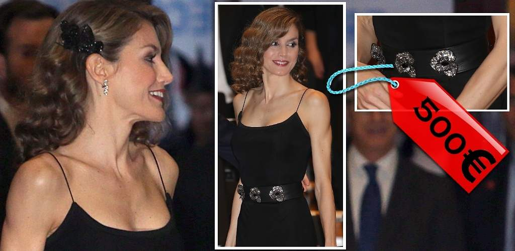 Doña Letizia se aprieta el cinturón... De 500 euros