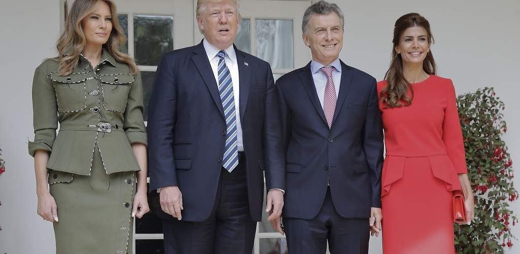 Juliana Awada se merienda a Melania Trump en la Casa Blanca