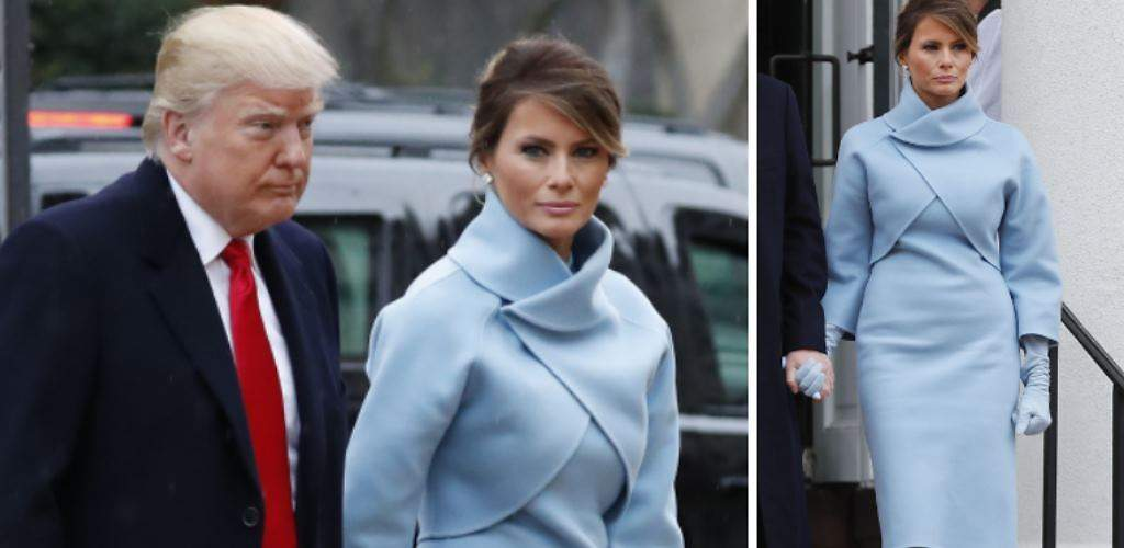 Melania entra en la Casa Blanca al estilo Jackie Kennedy