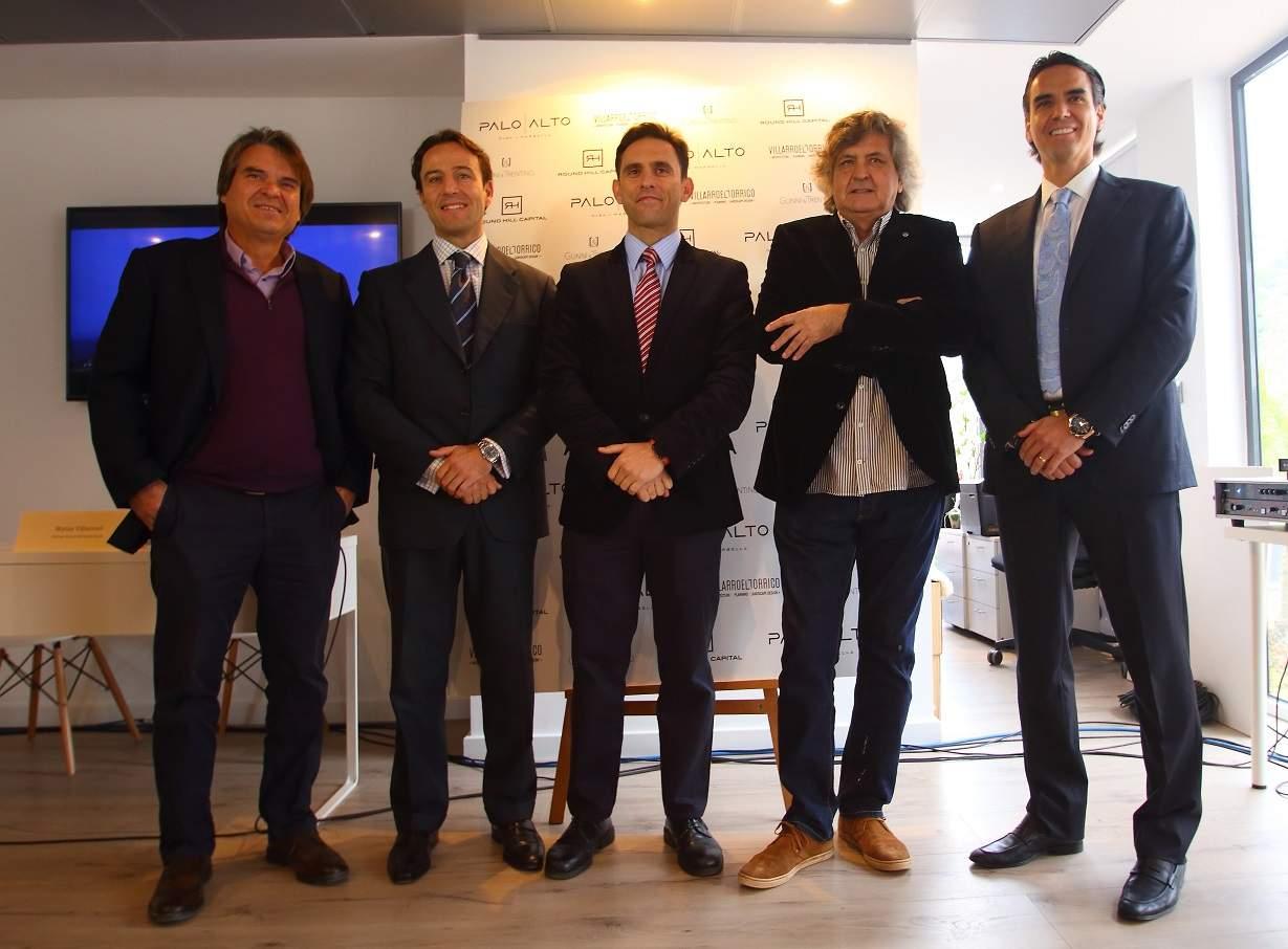 Pablo Villarroel, Alejandro Zugasti, José Antonio Gómez, Hugo Torrico y Matías Villarroel.JPG