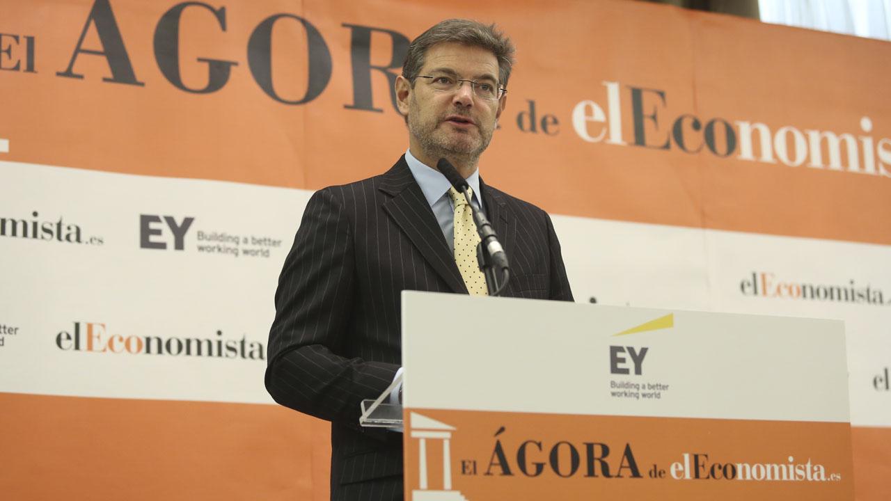Catalá: Subir ahora la fiscalidad sería una tragedia que espantaría a los inversores