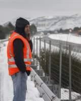 Más de 30 carreteras de Valencia y nueve de Aragón permanecen cortadas por la nieve