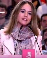 Dimite la telonera del acto de presentación de Susana Díaz tras admitir que falseó su currículum