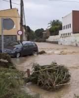 Una tromba de agua en Málaga deja 200 incidencias por daños materiales