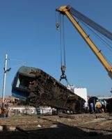 Veinte muertos y 123 heridos en un accidente de tren en el norte de India
