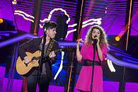 Amaia y Roi brillaron con 'Shape of you' - 195x130