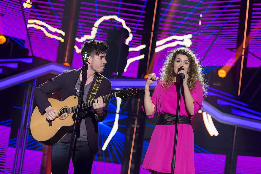 Amaia y Roi brillaron con 'Shape of you' - 880x