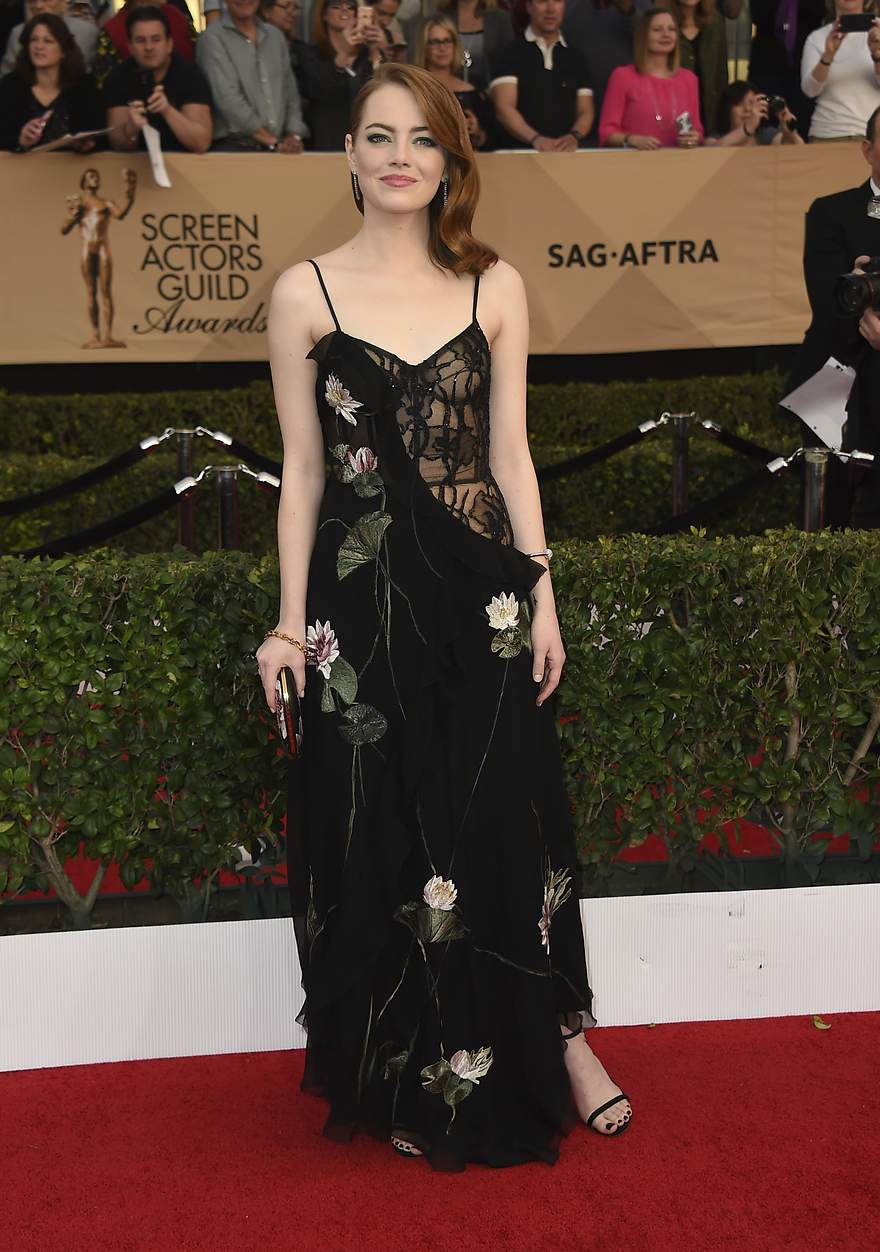 Premios SAG: Emma Stone - 880x
