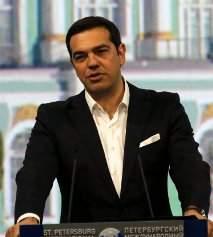 Tsipras pide una deuda sostenible y una reducción de objetivos de superávit