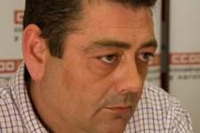 Fernando Baraza, secretario general de la Federación de Construcción y Servicios