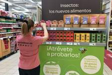 Carrefour comercializa insectos comestibles
