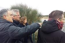 Aragón y Navarra abordan la modernización del regadío en la zona comprendida entre Tarazona y Tudela