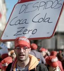 La Audiencia obliga a los readmitidos de Coca-Cola a devolver las indemnizaciones