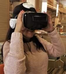 Uso de realidad virtual