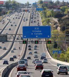 El tráfico en autopistas de peaje cae un 9,8% en el primer cuatrimestre de 2013