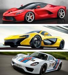 Comparativa | Ferrari LaFerrari vs. McLaren P1 vs. Porsche 918 Spyder