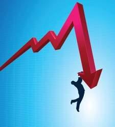 Wall Street se asusta de los 26.000 puntos del Dow Jones y cierra la sesión en negativo