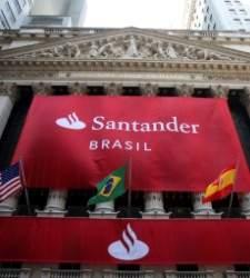 Qatar pone a la venta el 40% de su participación del 5,5% en Santander Brasil