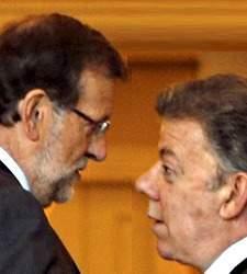 Santos se la jugó a Rajoy en el conflicto con Gas Natural Fenosa