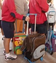 La vuelta al colegio en España cuesta entre 200 y 400 euros por cada niño