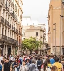 El pequeño comercio se hunde un 11% en Barcelona y teme más huelgas