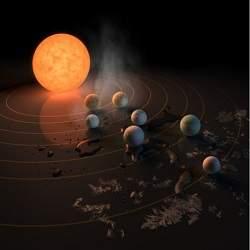 Hallan 7 nuevos planetas