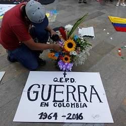 Llega la paz a Colombia
