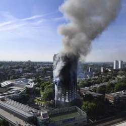 Edificios inflamables