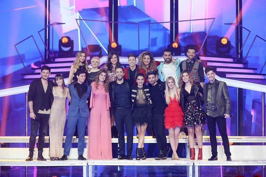 El grupo al completo de 'OT 2017' - 880x