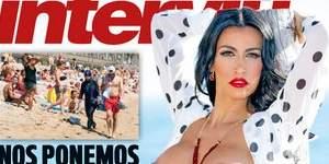 La Sabrina Salerno española que triunfa en Italia, desnuda en Interviú