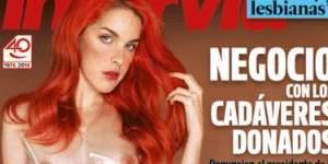 La actriz porno Amarna Miller, desnuda en Interviú