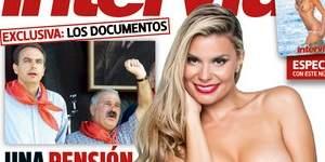 María Lapiedra, desnuda en la portada de Interviú