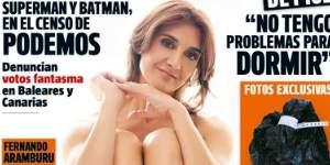 Carolina Olivares, suspendida de la Policía, desnuda en Interviú