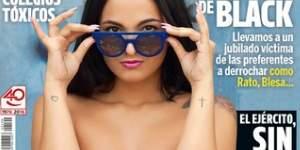 Claudia,MyHyV, desnuda en la portada de Interviú
