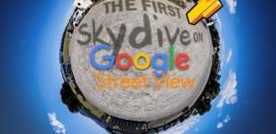 Street View salta en paracaídas