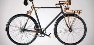 Una exclusiva bicicleta de paseo