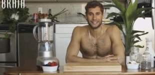 Así es el chef desnudo de Youtube