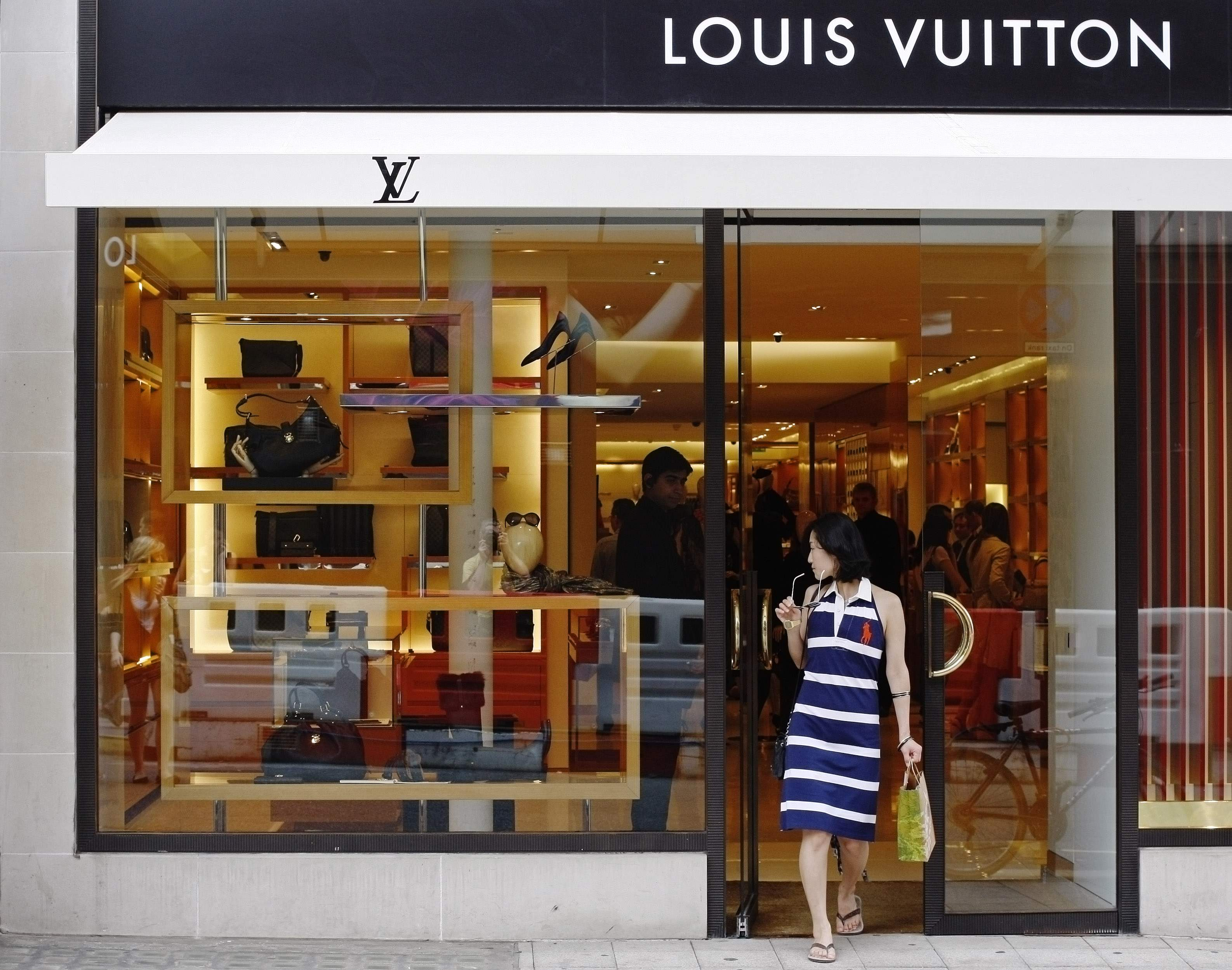 Tienda de Louis Vuitton en New Bond Street