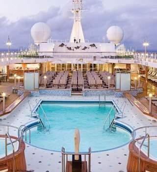 Un crucero de máximo lujo