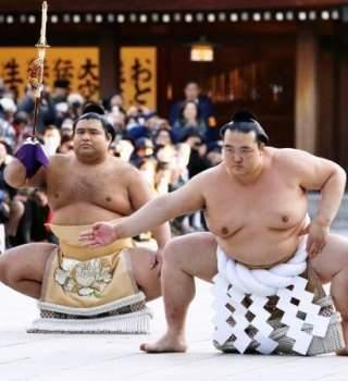 Viva como un luchador de sumo
