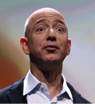 El CEO de Amazon, en un museo