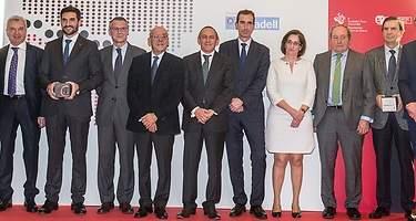 Aernnova, Innovalia, Litalsa, Michelin y Juan Luis Arregui, premios de la Cámara de Álava
