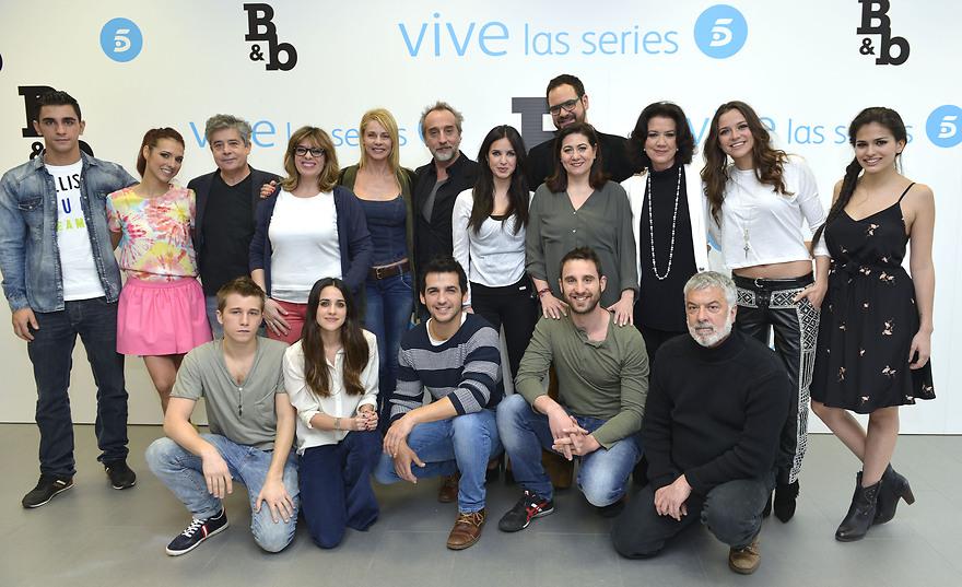 Foto De Los Actores De La Nueva Serie B B De Boca En Boca