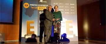 El Premio Empresa Teruel distingue en ATADI a la economía social