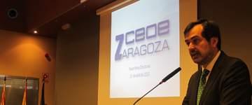 Ricardo Mur, reelegido presidente de CEOE Zaragoza
