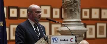 De Guindos sostiene que la independencia sería un suicidio económico y de la convivencia de los catalanes